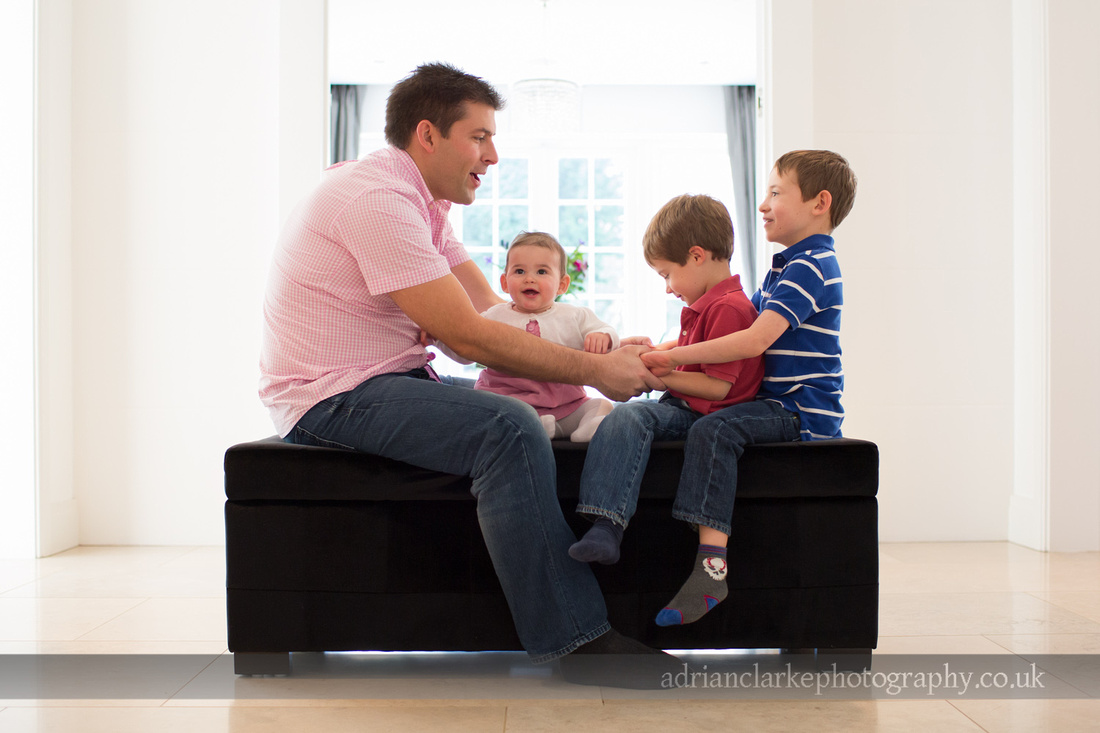 father and children photography sevenoaks