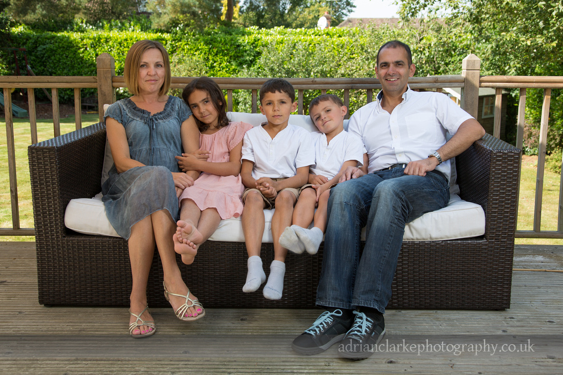 family portrait sevenoaks