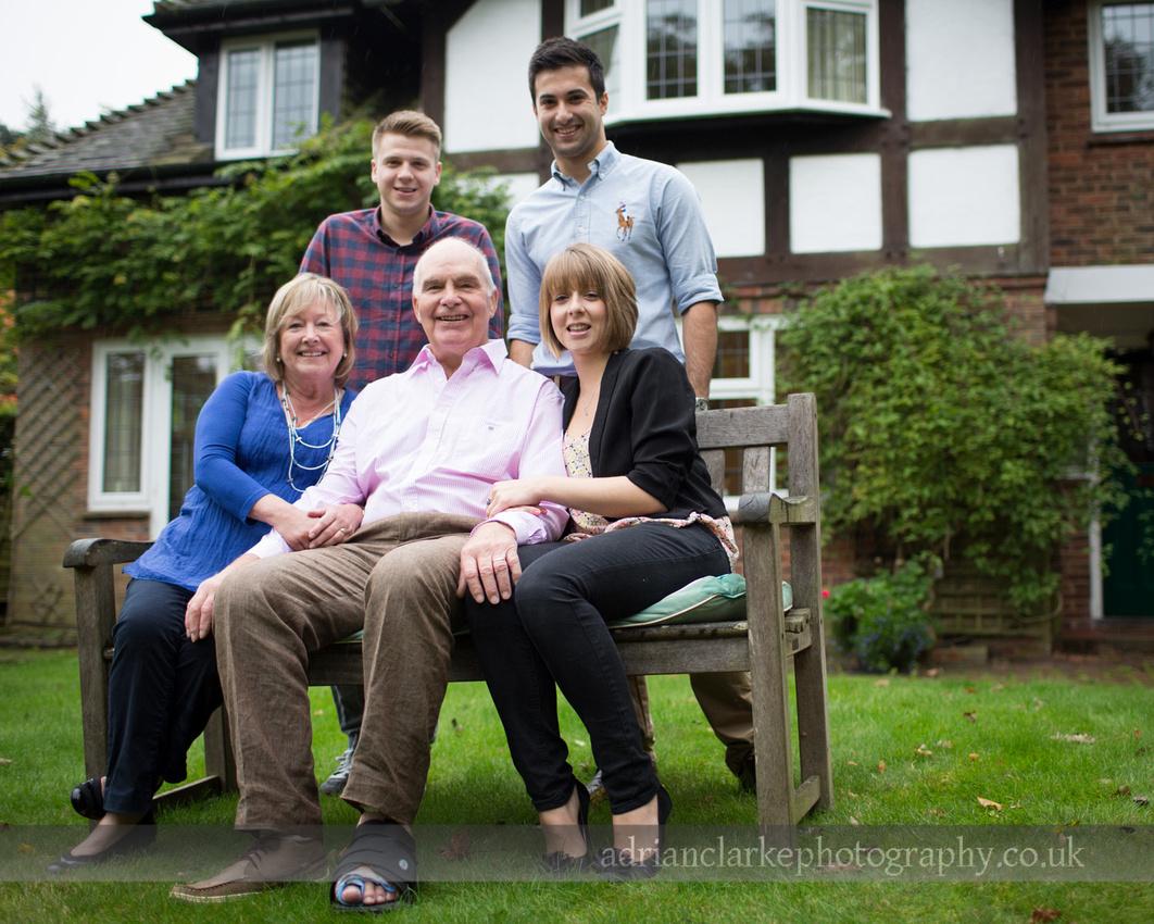 family portrait, Sevenoaks