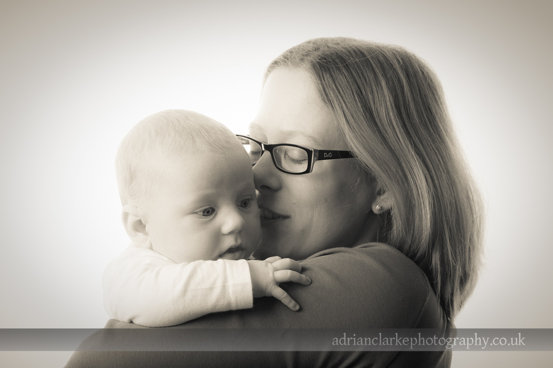 black and white newborn and child portrait photography sevenoaks