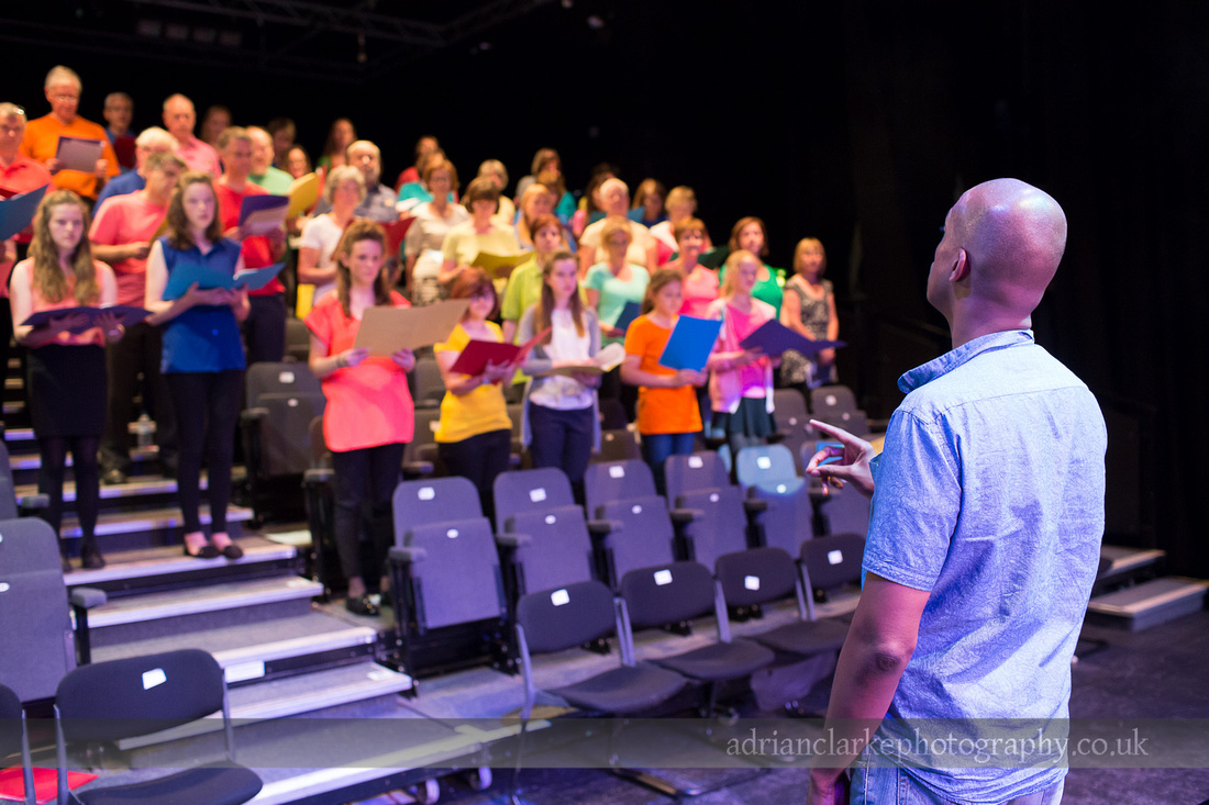Ken Burton - Gospel Workshop - Sevenoaks Photography