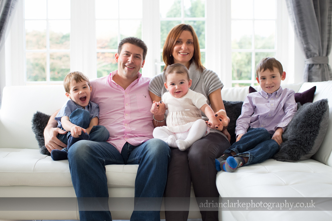 beautiful family portrait photograph sevenoaks