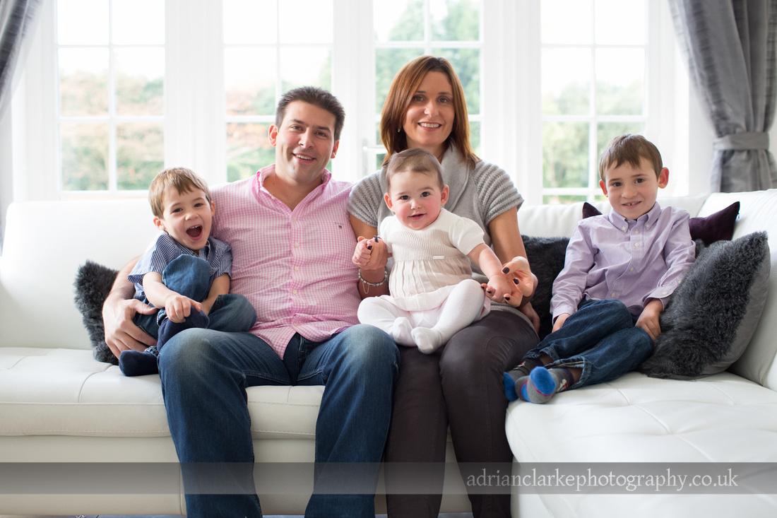 beautiful family portrait photograph sevenoaks