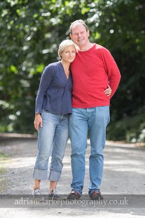family photography sevenoaks - couple in the sun