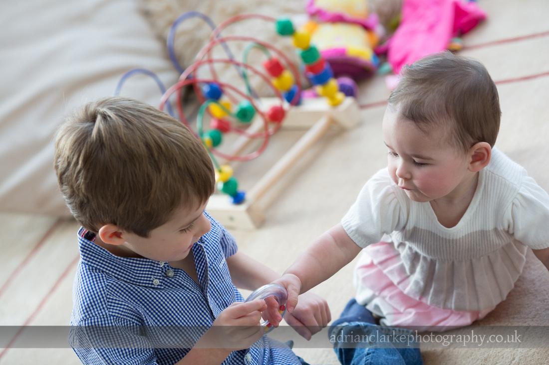 photograph of children playing sevenoaks