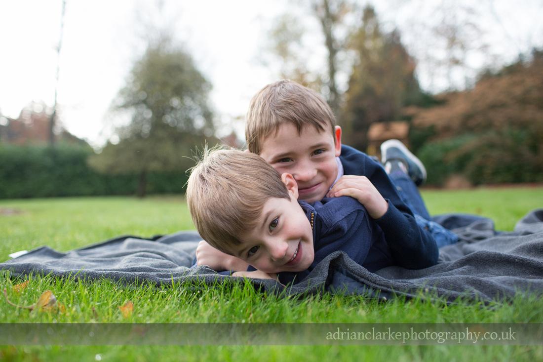 children playing in garden photography sevenoaks