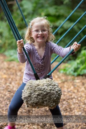 photograph of smiling child, bedgebury, sevenoaks