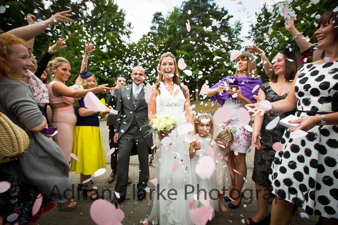 Wedding photography in Kent and Sevenoaks, Westerham
